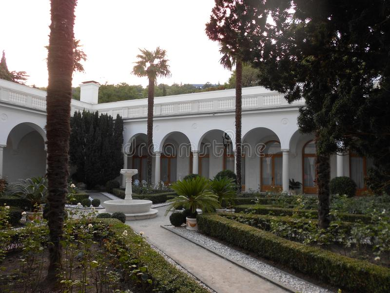 Het paleis van Livadia stock foto's