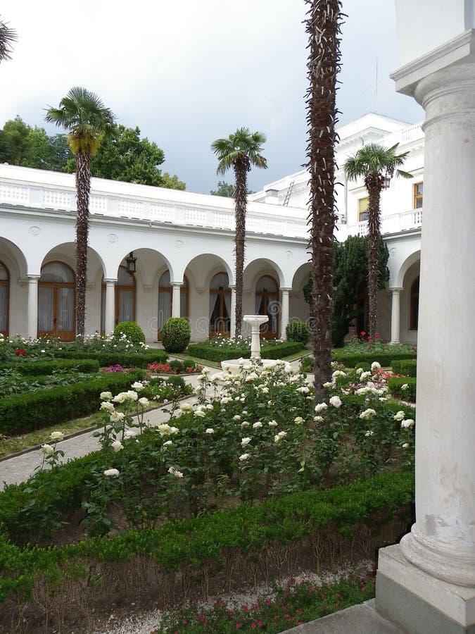 Het paleis van Livadia stock afbeelding