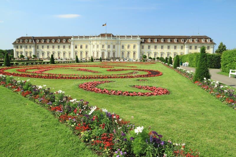 Het Paleis van Ludwigsburg stock afbeeldingen