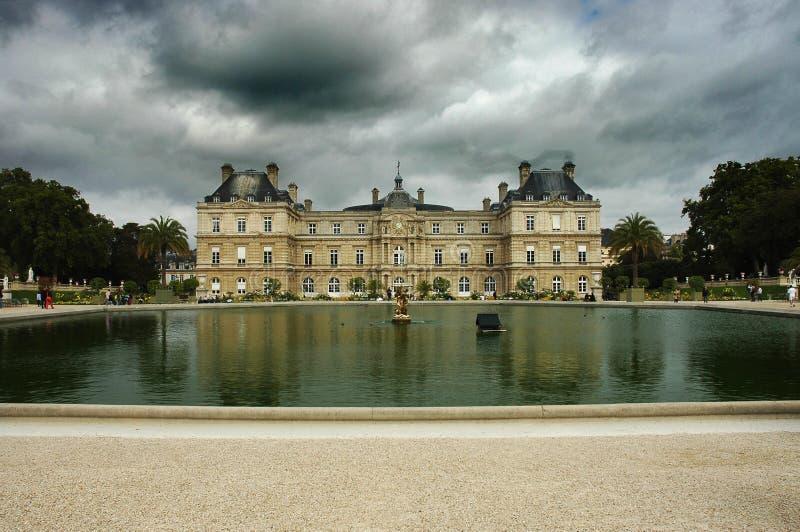 Het Paleis van Luxemburg stock fotografie