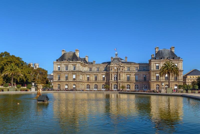 Het Paleis van Luxemburg, Parijs royalty-vrije stock afbeelding