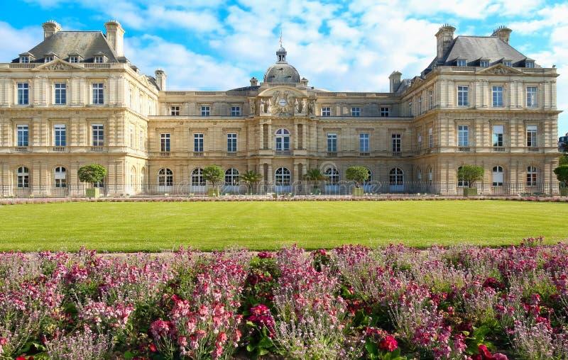Het Paleis van Luxemburg, Parijs, Frankrijk stock fotografie