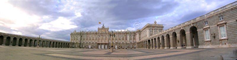 Het paleis van Madrid royalty-vrije stock afbeeldingen