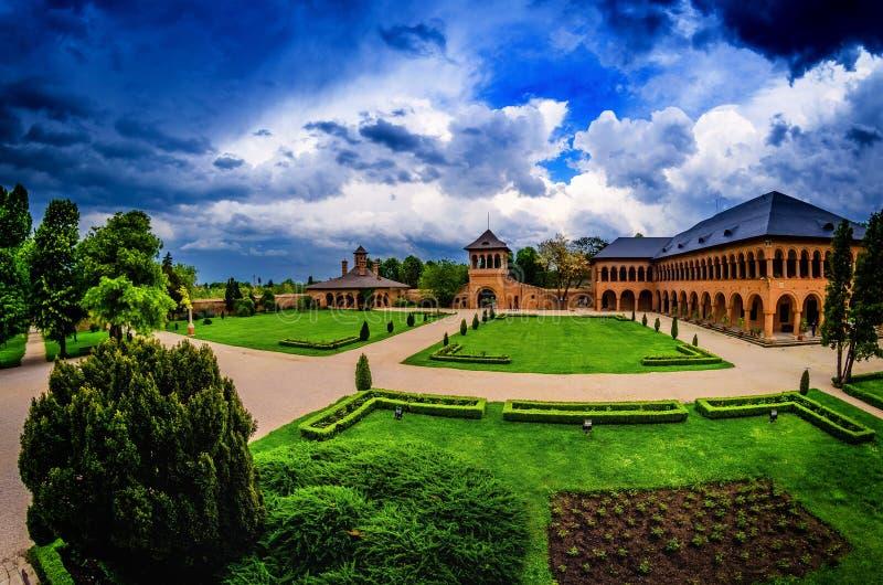 Het Paleis van Mogosoaia royalty-vrije stock foto