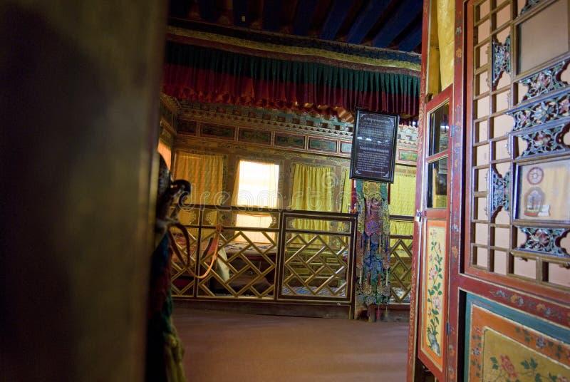 Het Paleis van Potala stock afbeeldingen