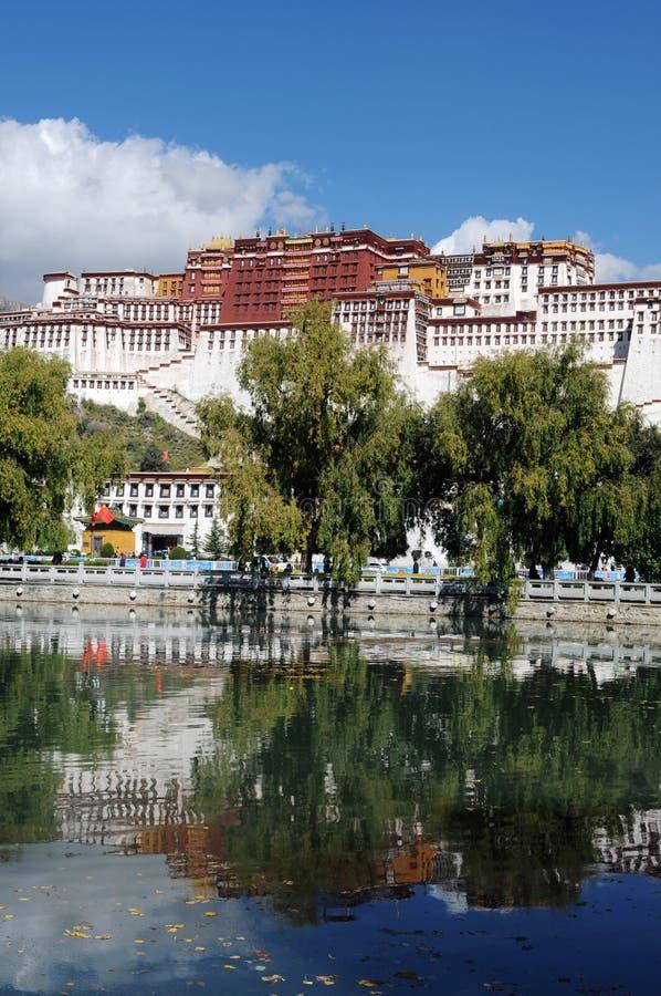 Het Paleis van Potala in Lhasa royalty-vrije stock foto's