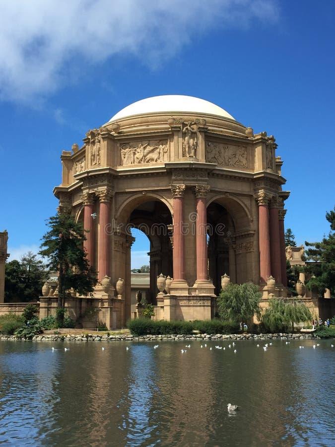 Het Paleis van San Francisco van Beeldende kunsten royalty-vrije stock afbeeldingen