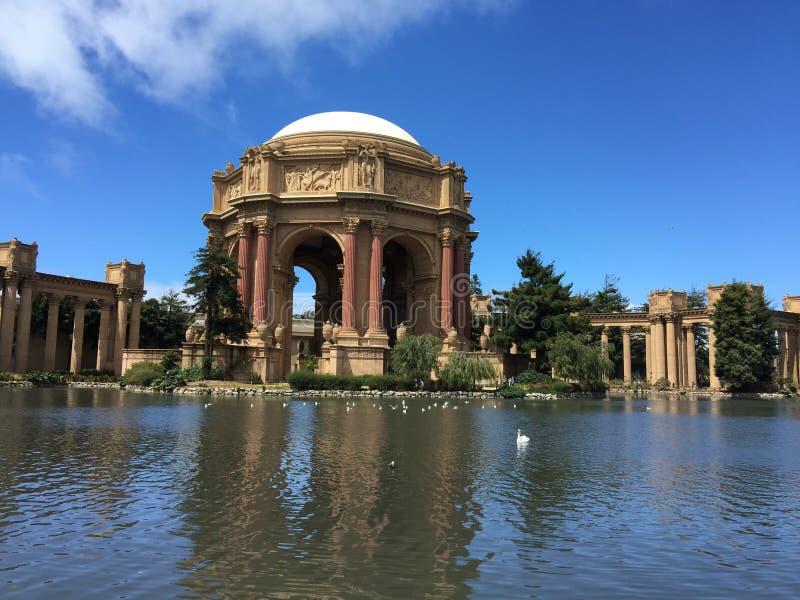 Het Paleis van San Francisco van Beeldende kunsten stock foto's