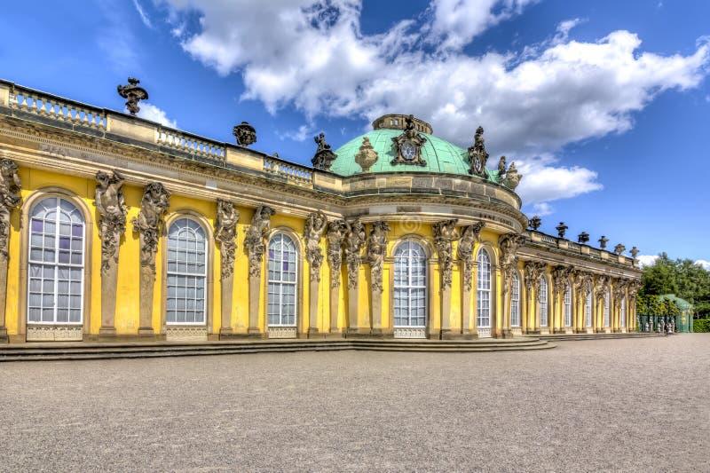 Het paleis van Sanssouci in Potsdam, Duitsland royalty-vrije stock fotografie