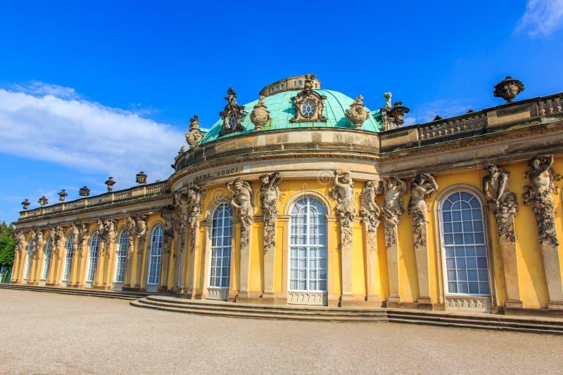 Het paleis van Sanssouci, Potsdam, Duitsland stock foto