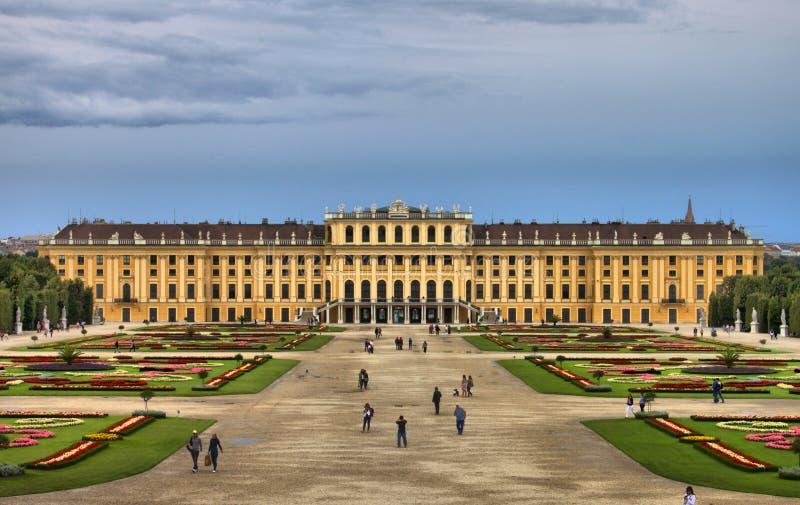 Het Paleis van Schonbrunn in Wenen royalty-vrije stock afbeelding