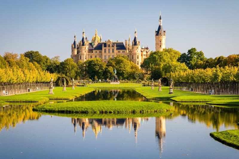 Het paleis van Schwerin royalty-vrije stock foto's