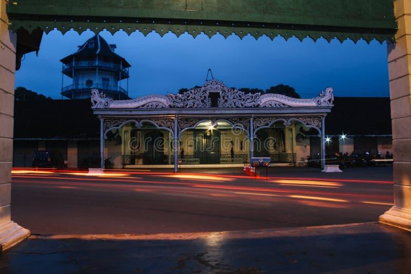 Het Paleis van Surakarta Kasunanan stock foto's