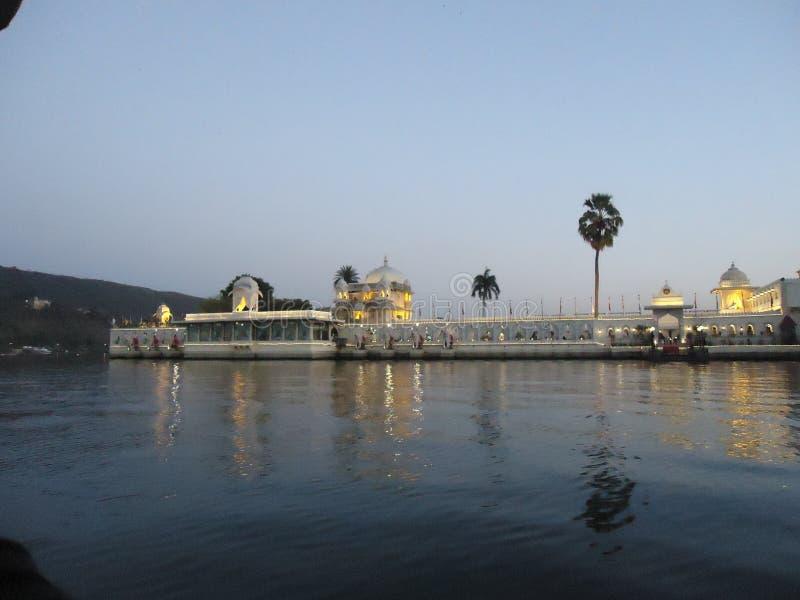 Het paleis van het Tajmeer stock fotografie