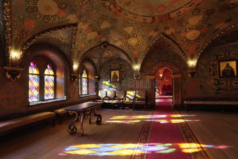 Het Paleis van Terem, het Koninklijke binnenland royalty-vrije stock afbeeldingen