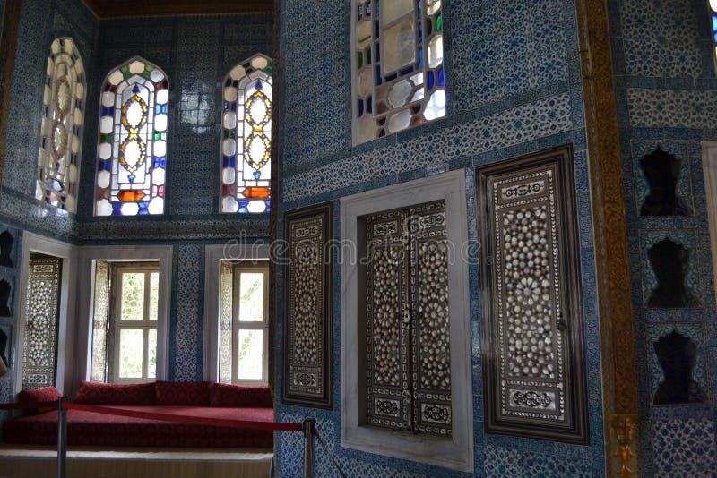 Het Paleis van Topkapi, Istanboel royalty-vrije stock foto