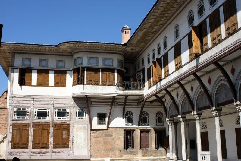 Het Paleis van Topkapi, Istanboel stock fotografie