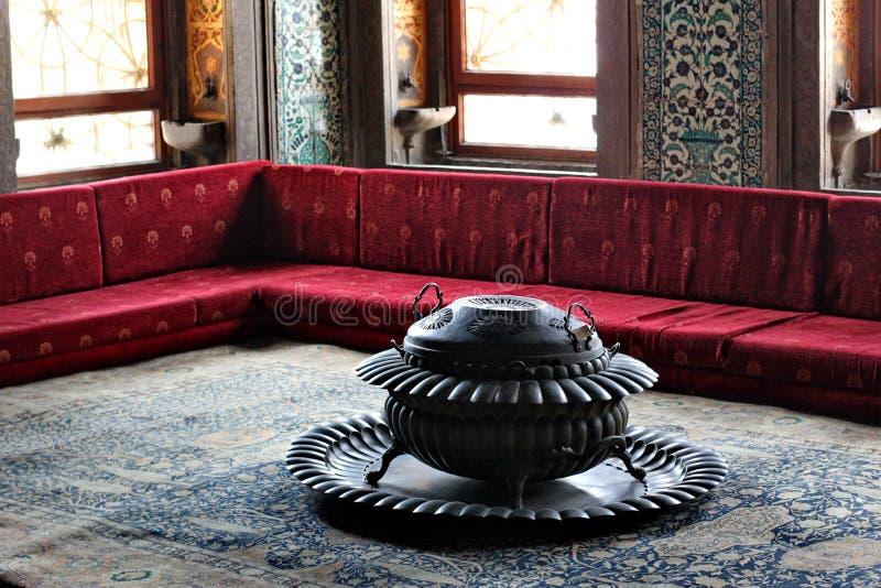 Het paleis van Topkapi in Istanboel royalty-vrije stock foto