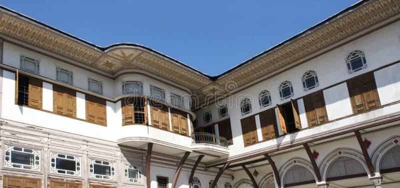 Het Paleis van Topkapi in Istanboel, Turkije royalty-vrije stock afbeeldingen