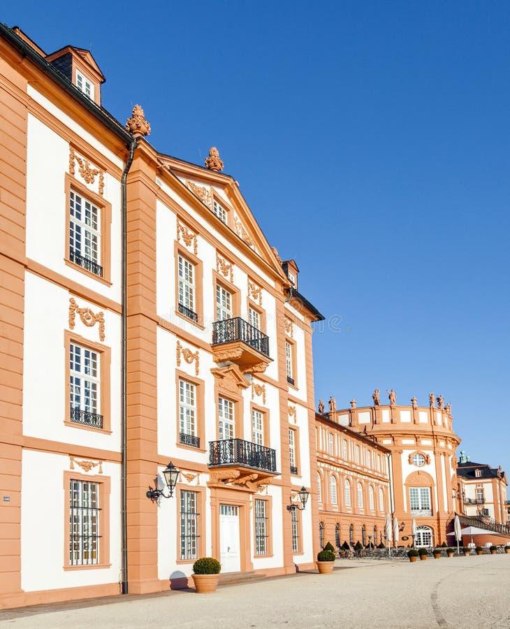 Het paleis van Wiesbaden Biebrich, royalty-vrije stock afbeelding