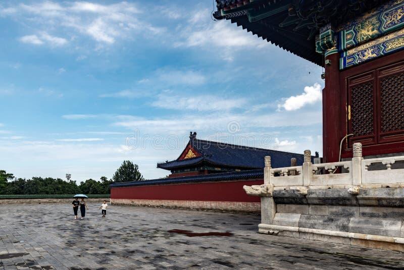 Het Paleismuseum van Peking, China royalty-vrije stock foto's