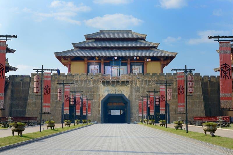 Het paleispoort van Qin Shihuang royalty-vrije stock afbeelding