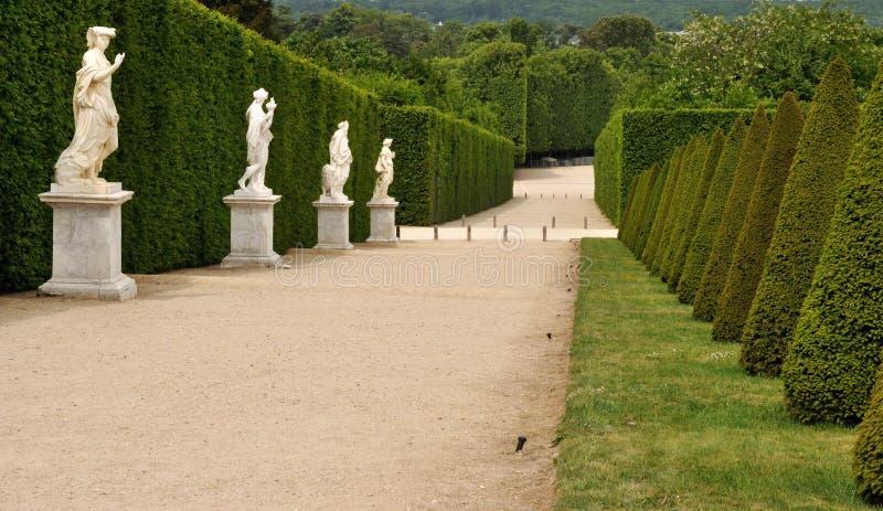 Het Paleistuin 2 van Frankrijk Versailles stock foto's
