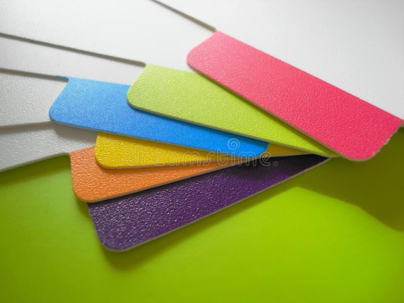 Het palet van de kleur royalty-vrije stock afbeeldingen
