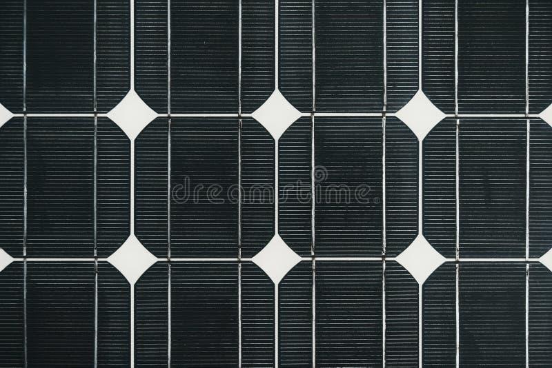 Het paneeldetail van de zonnecelbatterij stock foto