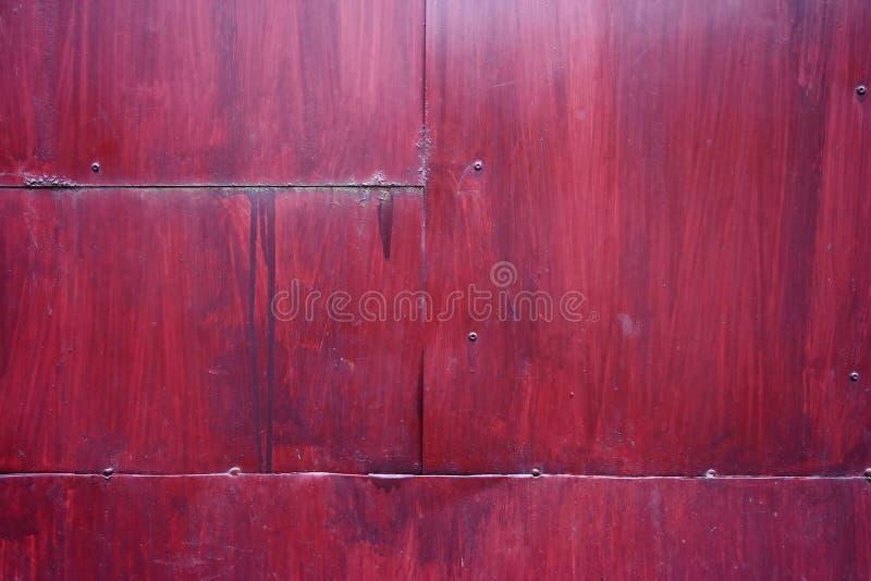 Het paneeldeur van het metaal stock foto