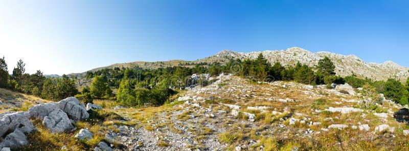 Download Het panorama van bergen stock afbeelding. Afbeelding bestaande uit horizontaal - 10782831