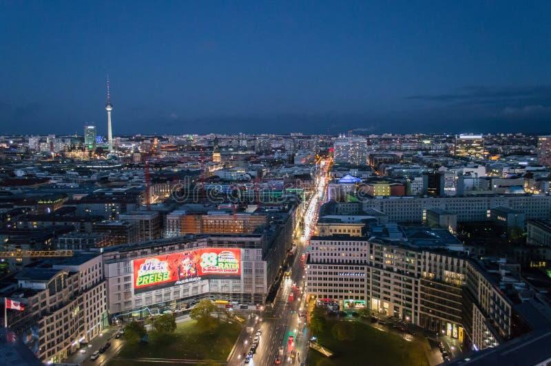 Het panorama van Berlijn royalty-vrije stock foto