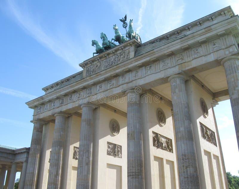 Het panorama van Berlijn stock foto
