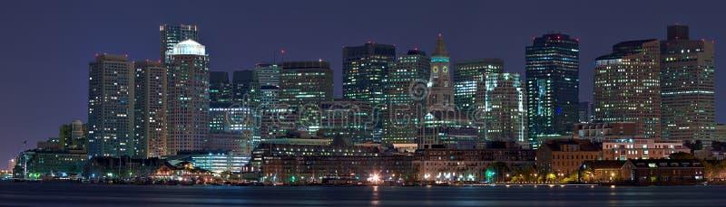 Het Panorama van Boston royalty-vrije stock foto