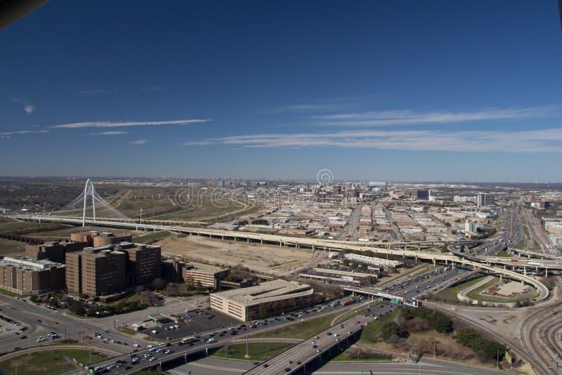 Het panorama van Dallas royalty-vrije stock afbeelding