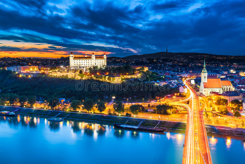 Bratislava, Slowakije Royalty-vrije Stock Fotografie