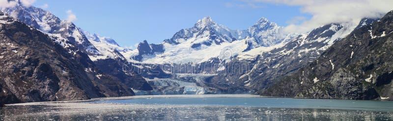 Het panorama van de Baai van de gletsjer royalty-vrije stock fotografie