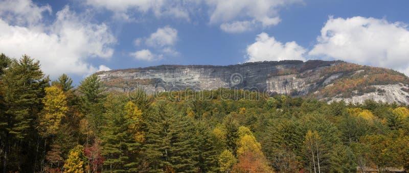 Het Panorama van de Berg van Whiteside royalty-vrije stock foto's
