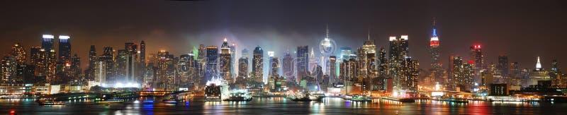 Het panorama van de Stad van New York royalty-vrije stock foto