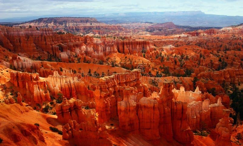 Het Panorama van de woestijn stock foto