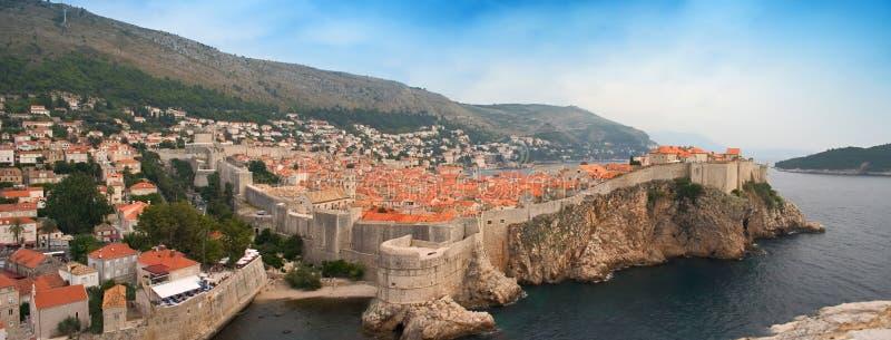Het Panorama van Dubrovnik royalty-vrije stock afbeeldingen