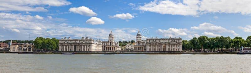 Het Panorama van Greenwich royalty-vrije stock foto's