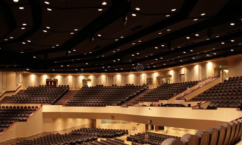 Het Panorama van het auditorium stock foto's
