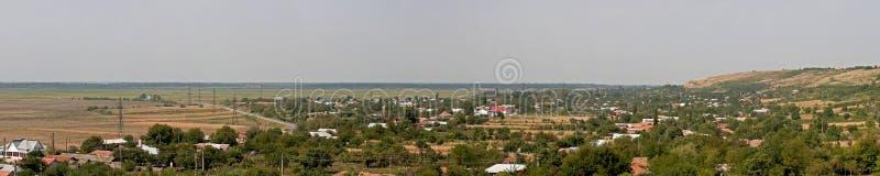 Download Het panorama van het dorp stock foto. Afbeelding bestaande uit banner - 10781082
