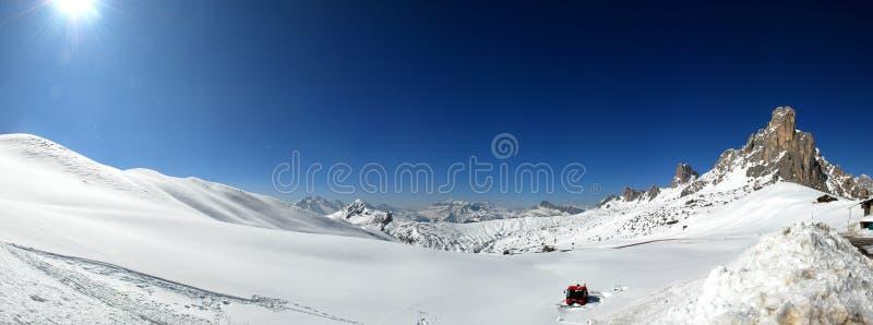 Het Panorama van het Landschap van de berg stock afbeeldingen