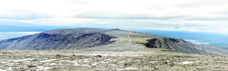 Het panorama van Hibiny royalty-vrije stock afbeelding