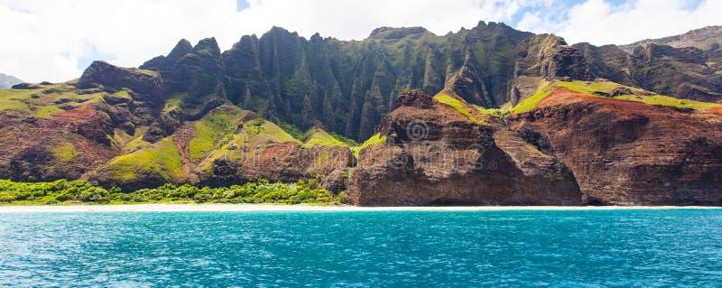 Het panorama van Kauai stock foto