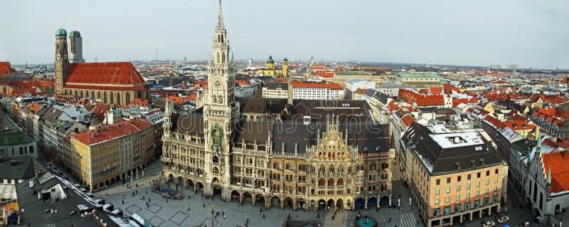 Het Panorama van München stock foto's