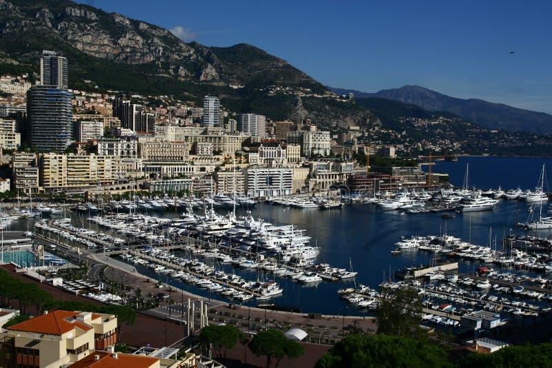 Het panorama van Monaco royalty-vrije stock foto