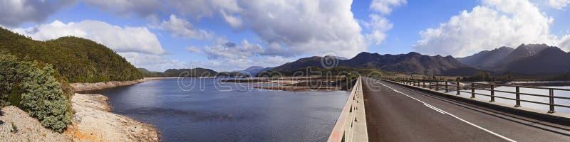 Het panorama van Tasmanige Burbery hor stock foto